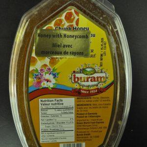 عسل طبیعی بورام با موم