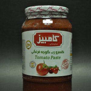 کنسرو رب گوجه فرنگی محصول کامبیز سایز بزرگ