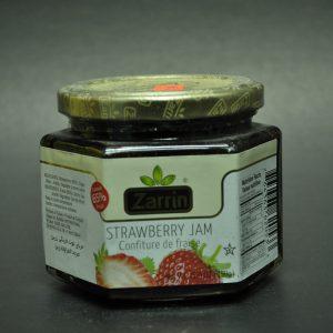 مربای توت فرنگی محصول زرین