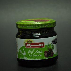 مربای آلبالو محصول مهرام