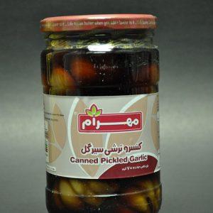 کنسرو ترشی سیرگل محصول مهرام