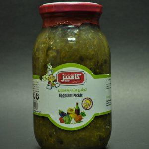 ترشی لیته بادمجان محصول کامبیز