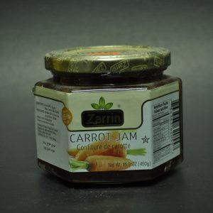 مربای هویج محصول زرین