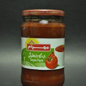 رب گوجه فرنگی محصول مهرام