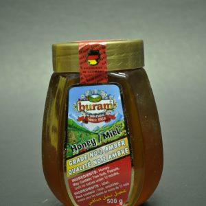 عسل طبیعی بورام درجه دو